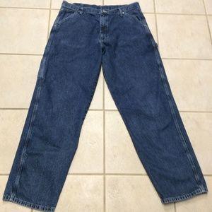 36x32 Mens Wrangler Carpenter Jeans Like NEW